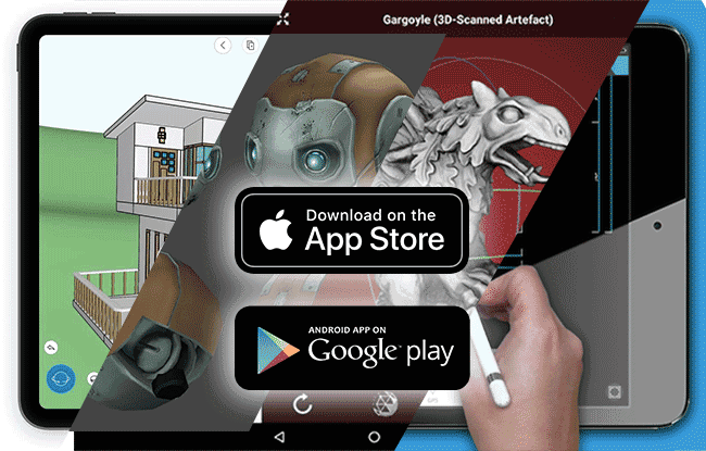 Free 3D modeling app for android and ios