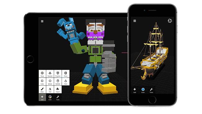Best 3d modeling mobile app