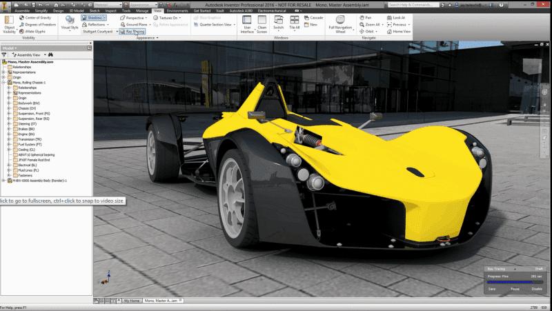 Autodesk inventor for 3d modeling