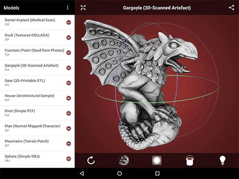 Top 3d modeling mobile app