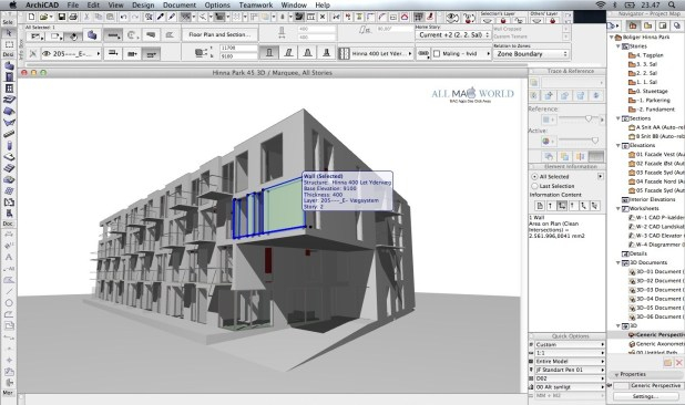 Graphisoft-ArchiCAD-21-for-3D modeling
