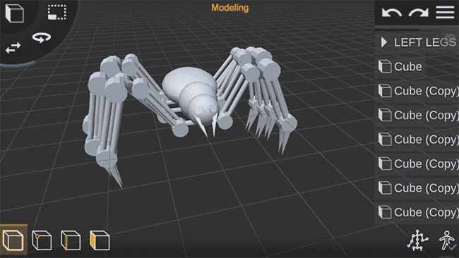 3d modeling mobile app for android