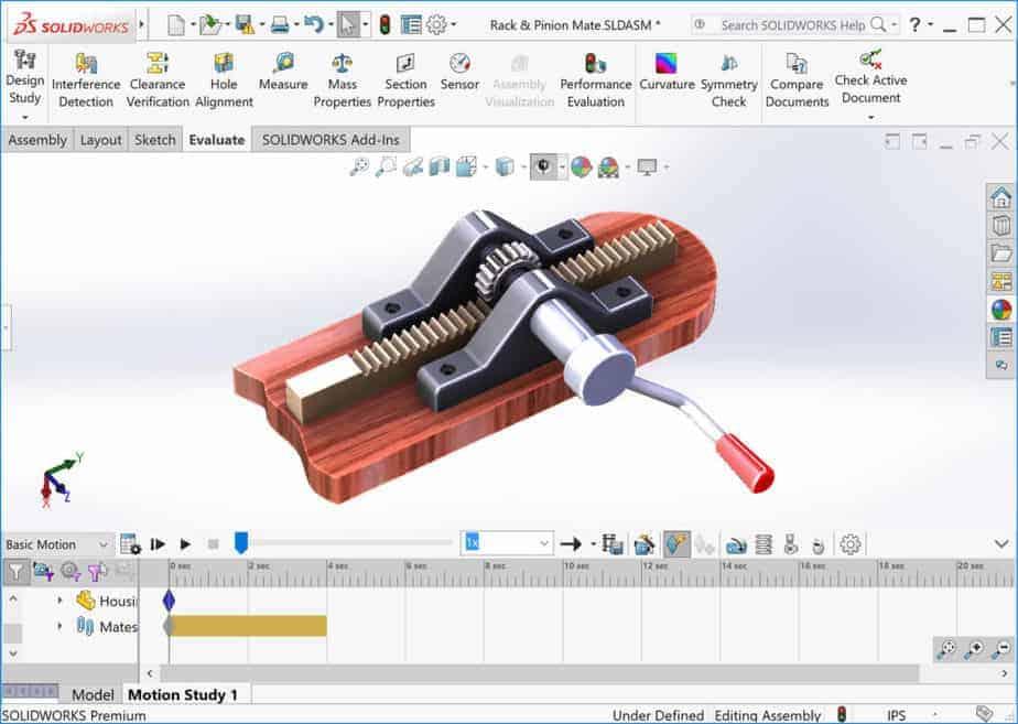 solidworks 3d modeling software