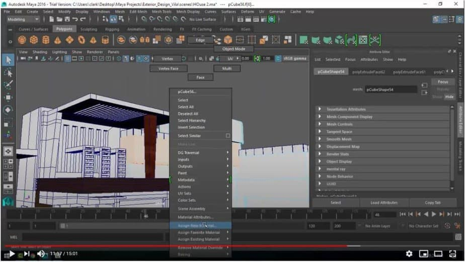 Maya for Architecture