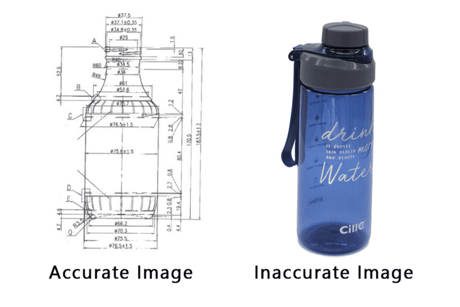 3D modeling tricks for reference image